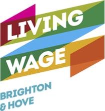 Living Wage Brighton & Hove logo