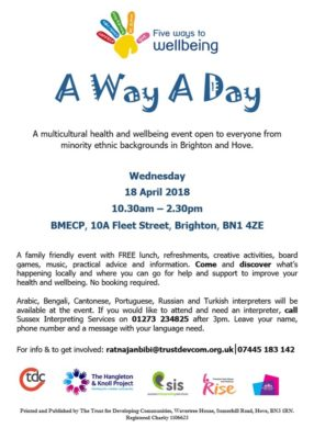 A Way A Day Multicultural Health and Wellbeing