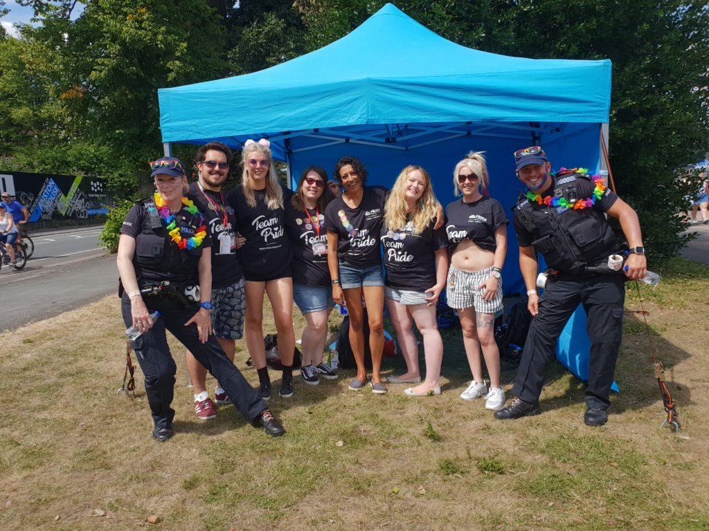 Youth Team Brighton Pride TDC Community Development
