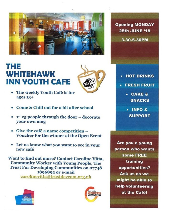 Whitehawk Youth Cafe - Community Development Brighton TDC