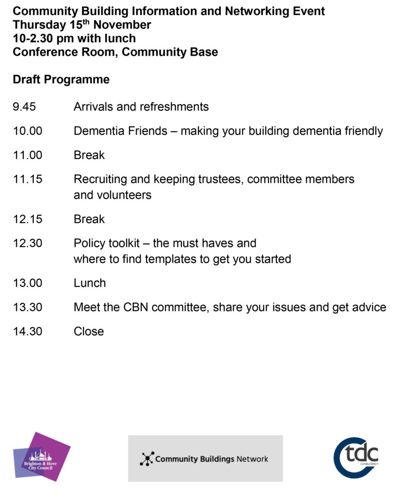 Community Buildings Network programme