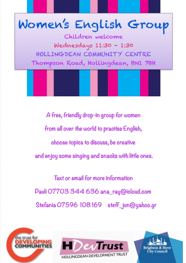 Hollingean Women's English Group