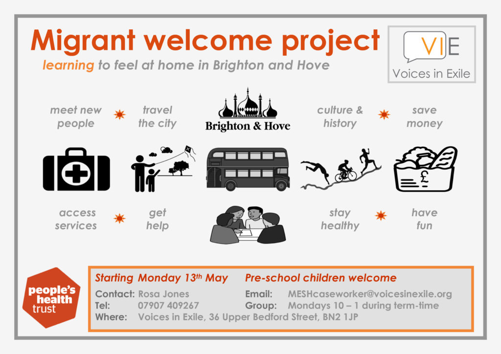 MESH – The Migrant and ESOL Support Hub Brighton & Hove