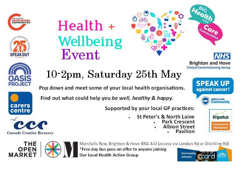 Brighton Health and Wellbeing market