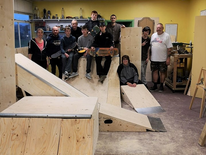 Moulsecoomb Skate Ramps | TDC Youth Work Brighton