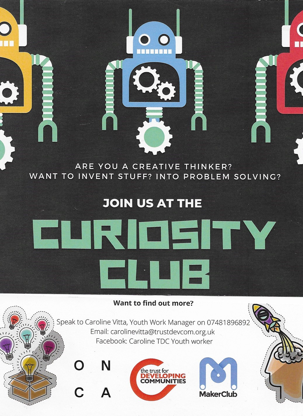 Curiosity club Brighton